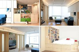 Interior Design Apartment Plenty Of Creative Small Space Storage Solutions Were Added To
