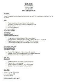 Administrative Assistant Resume Cover Letter Betty Vasquez Bettyvasquez62 On Pinterest