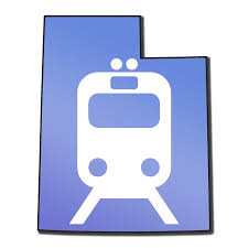 Utah Trax Map by Utah Transit Authority