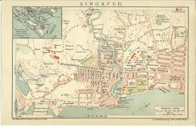 Map Of Singapore Of Maps Mountains And Books Singapore City Map 1900