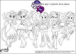 equestria girls coloring pages chuckbutt com