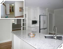 Kitchen Before And After by Kennebunkport Kitchen Renovation Douston Construction