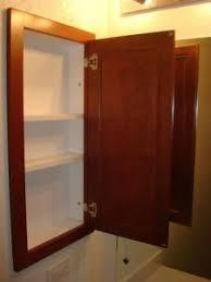 Recessed Medicine Cabinet Wood Door Medicine Cabinet Fascinating Wood Framed Recessed Medicine