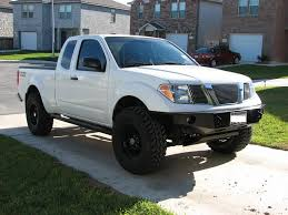 lifted silver nissan frontier wheels lift tires the final complete list nissan frontier forum