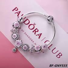 bracelet pandora silver images Pandora magnolia series charm bracelet with 9 pcs charms jpg