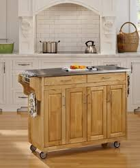 Natural Wood Kitchen Island by Amazon Com Home Styles 9200 1063 Create A Cart 9200 Series