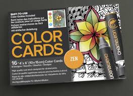 amazon com chameleon chm02202 16 piece zen color cards 4