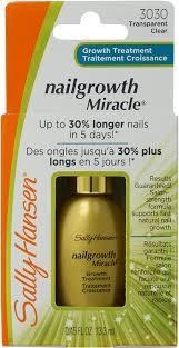 amazon com sally hansen nailgrowth miracle serum 0 45 oz clear