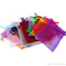 wholesale organza bags wholesale organza bag 9x12cm wedding jewelry packaging pouches