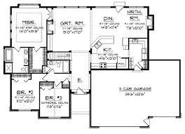 open floor plan ranch house designs picturesque open floor plan ranch house designs on home plans