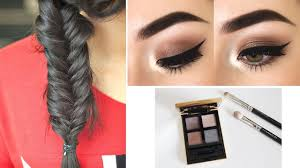 How To Do Easy Hairstyles Step By Step by Makeup U0026 Hairstyle Tips 3 Easy Hairstyles To Do Yourself Step