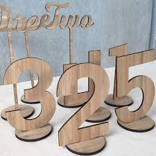 Laser Cut Table Numbers Things We Cut Online Laser Cutting