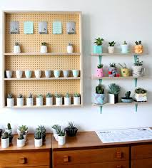 plant stand shelves for plants quick and easy diy hexagon wall