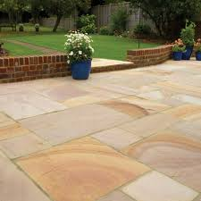 Indian Sandstone Patio by Newcastle Garden Patio Installers Free Quotes In North East