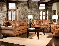 Living Room Rustic Leather Sets Eiforces - Family room sets