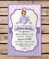 1st Birthday Halloween Invitations by Free Sofia The First Invitations U2013start Your Royal Party With