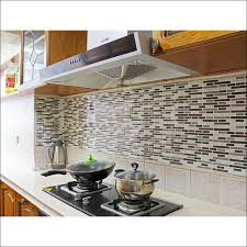 sticky backsplash for kitchen kitchen smart tiles peel and stick backsplash tin backsplash for