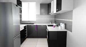 cuisine noir et blanc laqué cuisine noir et blanche fashion designs