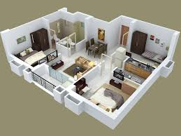 three bedroom floor plans 25 three bedroom house apartment floor plans