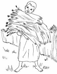 parable of the sower coloring page parable of the sower coloring