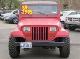 1989 jeep mpg 1989 jeep wrangler islander 2dr for sale in spokane wa stock