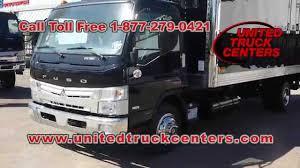 mitsubishi truck 2015 2015 mitsubishi fuso canter fe180 box truck nfk001098 youtube