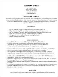 esthetician resume exle esthetician resume template esthetician resume resume cv cover