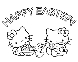 top 30 hello kitty coloring pages to print