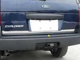 ford explorer trim ford explorer chrome rear deck trim 2002 2003 2004 2005 2006