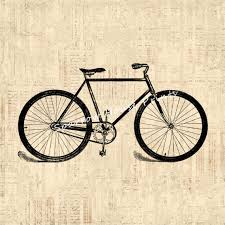 Cycling Home Decor Bicycle Antique Wall Bike Home By Sparrowhouseprints