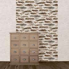 Tapisserie Effet Bois by Papier Peint Effet Brique Sur Idees De Decoration Interieure Et