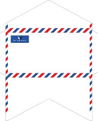 how to fold an envelope old fashioned correspondence airmail envelopes stationery