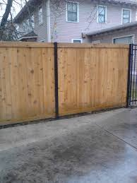 6 foot wooden fence posts fence acreage shadowbox fence wood