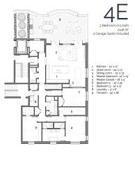 6 Bedroom Floor Plans Floor Plans U2014 445 Arlington