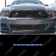Mustang Gt 2014 Black Mustang Black Billet Grill Ebay