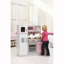 Childrens Wooden Kitchen Kidkraft by Kidkraft Kitchen Petal Pink 148 Big W Mid Year Toy Sales 2011