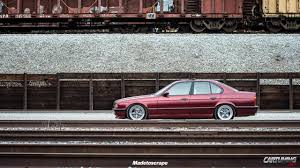 stanced bmw m5 low bmw m5 e34 cartuning best car tuning photos from all the world