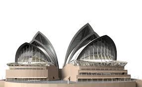 sydney opera house 3d model cgtrader
