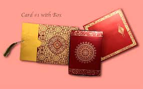 Indian Wedding Card Box Wedding Cards Print Wedding Card Indian Style In Surrey Bc