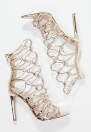 steve madden mayfair high heeled sandals gold women steve madden