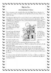 printable comprehension stories worksheet a story