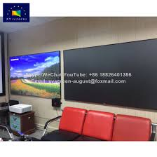 ambient light rejecting screen china xyscreen 90 inch ambient light rejection projector screen pet