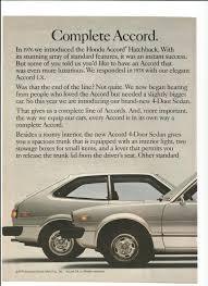 1979 advertisement honda accord 2 page hatchback liftback lx 4
