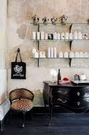 un salon de coiffure au style glam u0027rock salons salon ideas and