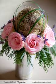 Topiary Balls With Flowers - rose with a natural topiary ball centerpieces pinterest