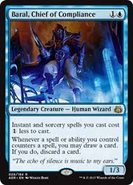 brewing ideas for baral chief of compliance commander edh