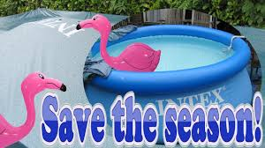 Intex Inflatable Swimming Pool How To Quick Patch And Repair Intex Swimming Pools Covers And
