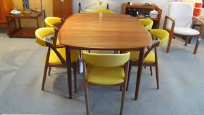 Yellow Table L Mid Century Dining Table Shapes Fresh And Dynamic Mid Century