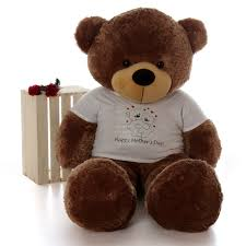 teddy for s day size 5ft happy s day teddy mocha