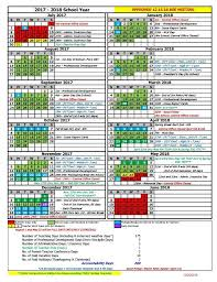 2017 2018 calendar maury county schools